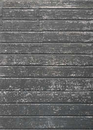 wood planks tar tarred painted siding