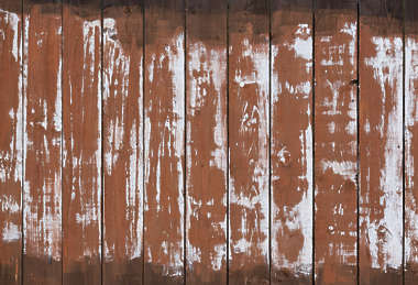 wood wooden plank planks painted fence UK siding