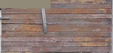wood plank planks old painted weathered worn siding