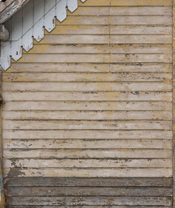 wood plank planks painted weathered old siding
