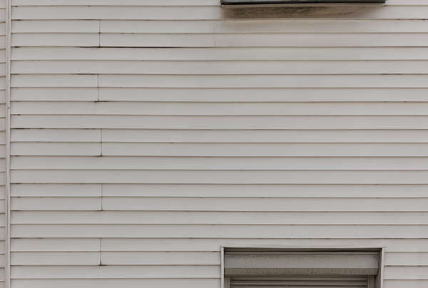 wood planks painted new siding