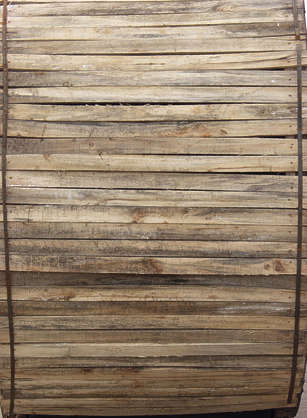 wood planks bare dirty