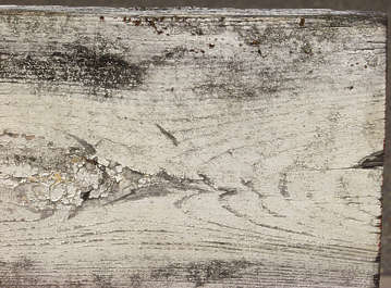 wood painted old planks cracked weathered closeup