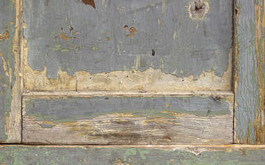 wood painted old planks cracked weathered seam