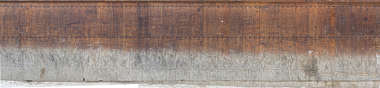 wood planks worn old morocco reinforced wainscoting