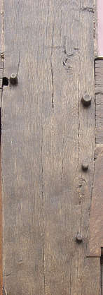 wood old glossy medieval grain cracks knots