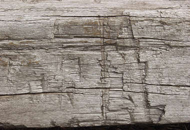 wood old rough chopped splinters
