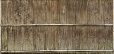 japan wood old weathered fence bark